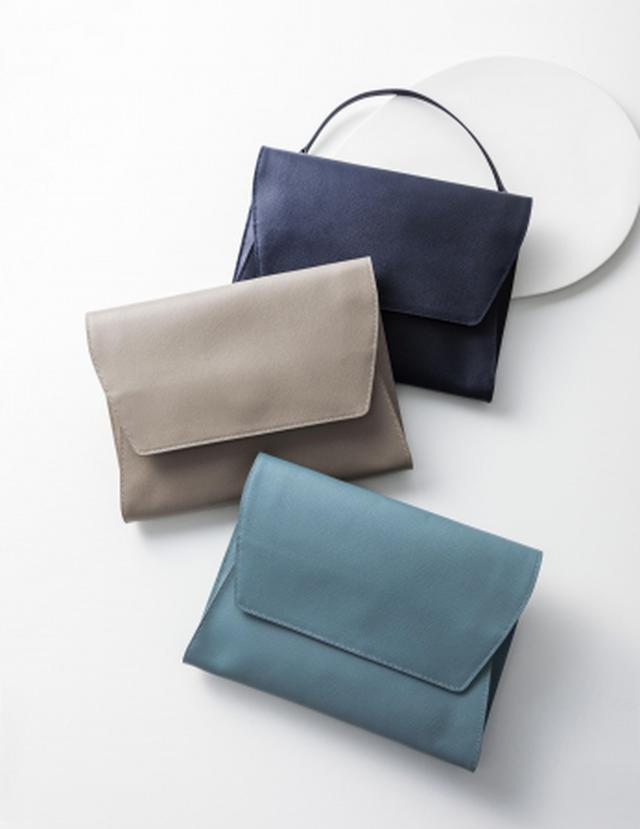 画像2: 【土屋鞄】ビジネスシーンで活躍する女性のための「HINON」シリーズに、4つのビジネス小物新登場!