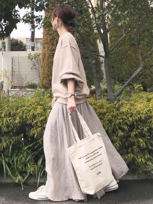 画像: 春まで持続するスカート