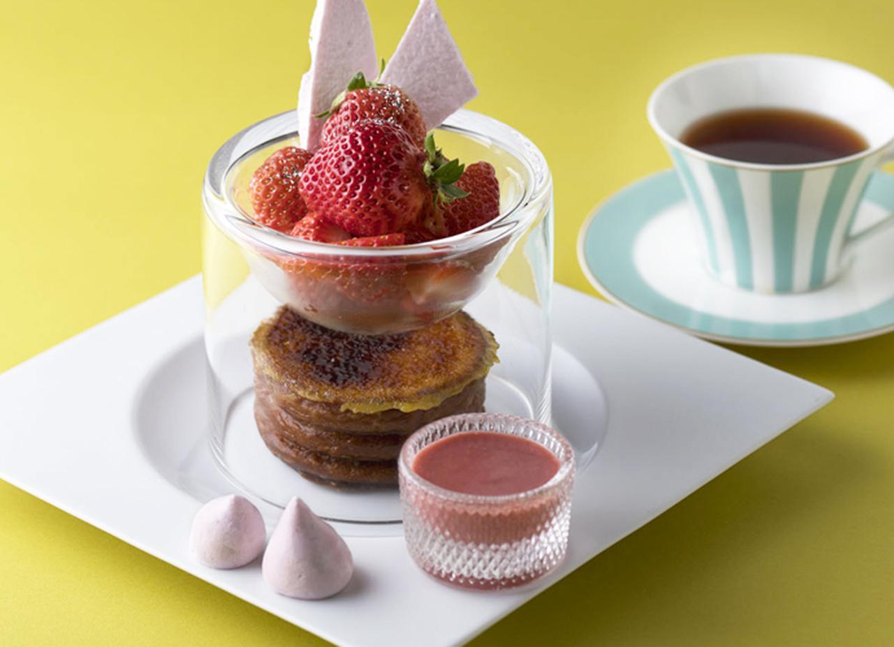 画像: 桜×いちご SAKURAフレンチトースト