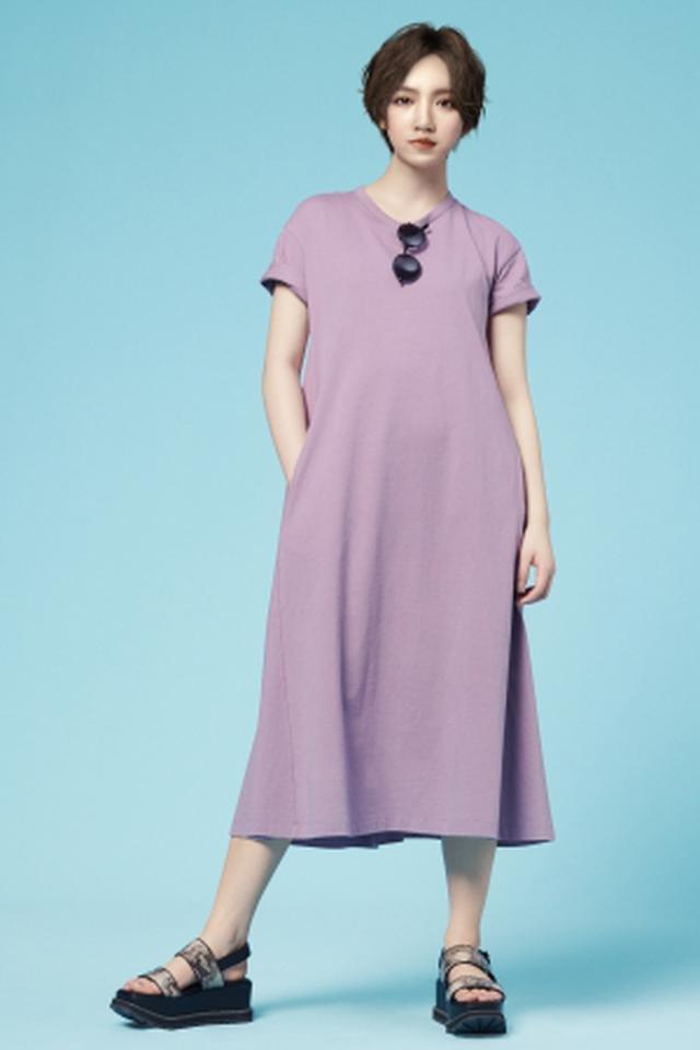 画像2: 身長158cm。彼女が、ファッションを、もっと自由にする。
