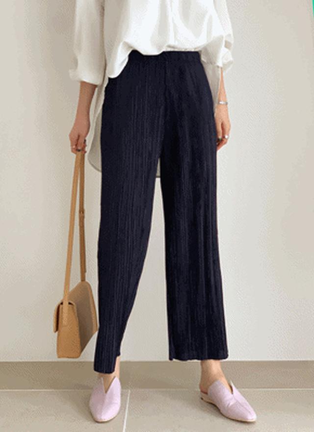 画像: [DHOLIC] イージープリーツパンツ・全5色パンツ・ジーンズパンツ・ズボン|レディースファッション通販 DHOLICディーホリック [ファストファッション 水着 ワンピース]