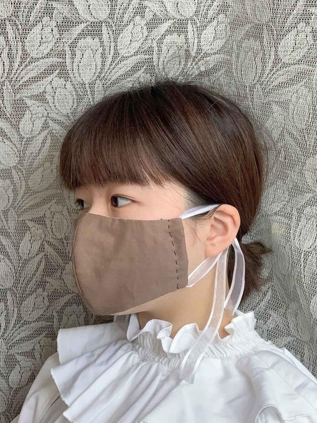画像: 気になるパーツを隠して目元強調!女子力を引き上げるマスク美人