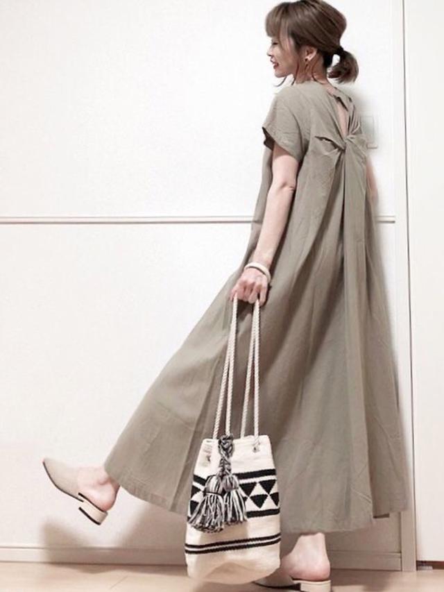 画像: ご近所歩きにちょうどいい初夏の巾着バッグたち