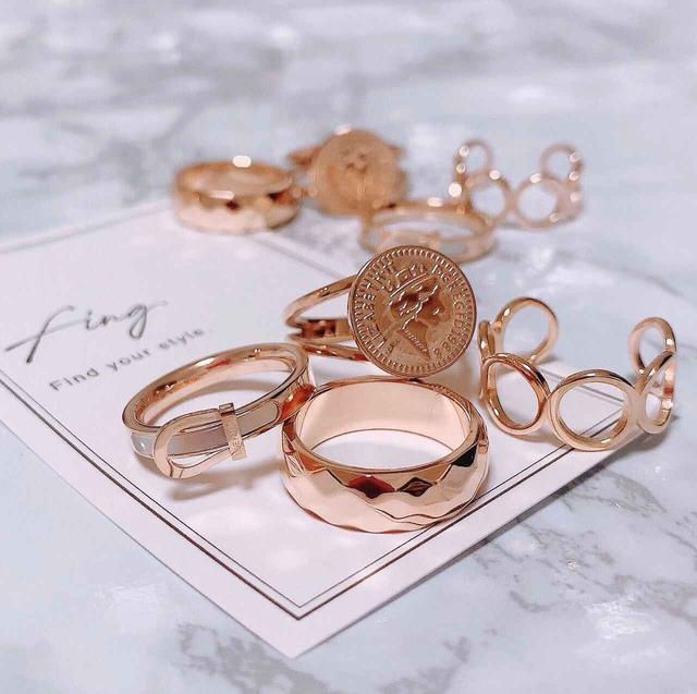 画像: オンライン限定販売中♡「fing.(フィング)」のリングは華奢で重ね付けもおすすめ!