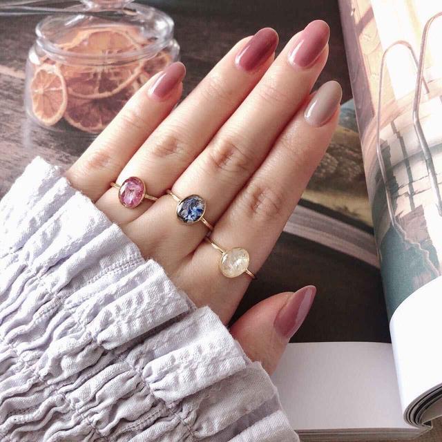 画像: 薬指:ring purple/NAR241 ¥2,750(税込み)
