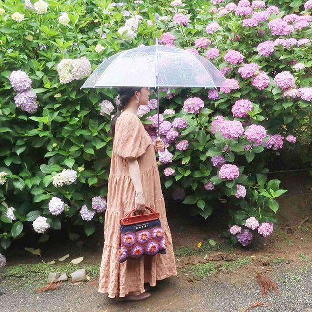 画像2: 紫陽花に似合う雨の日ワンピース♪