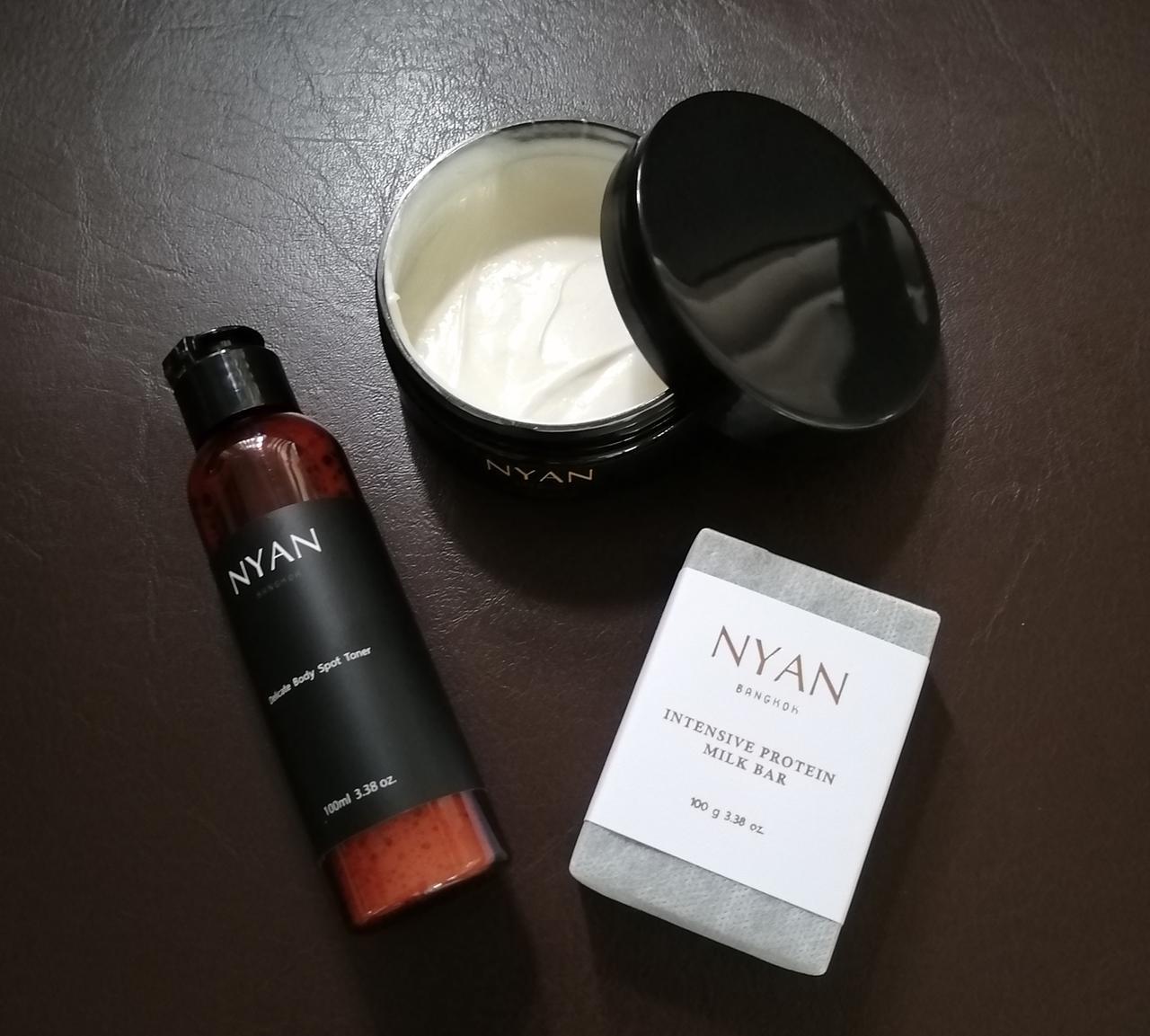 画像: タイのオーガニックケアブランド「NYAN」製品