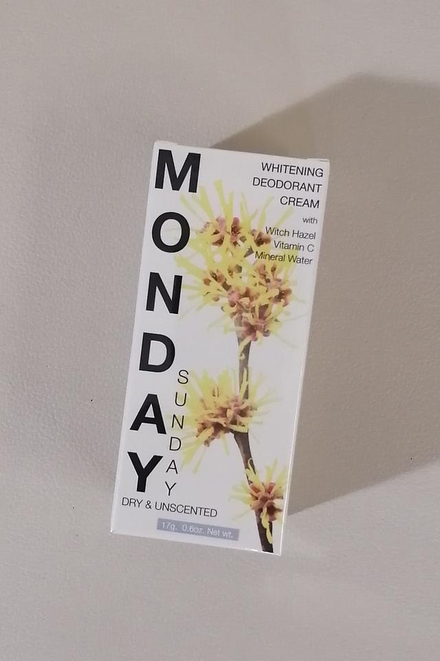 画像: 「Monday Sunday」の「ホワイトニング デオドラント クリーム」