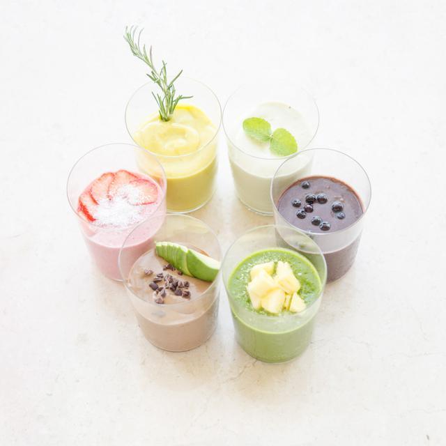 画像: 広尾のスムージー、コールドプレスジュース、ロースイーツカフェ