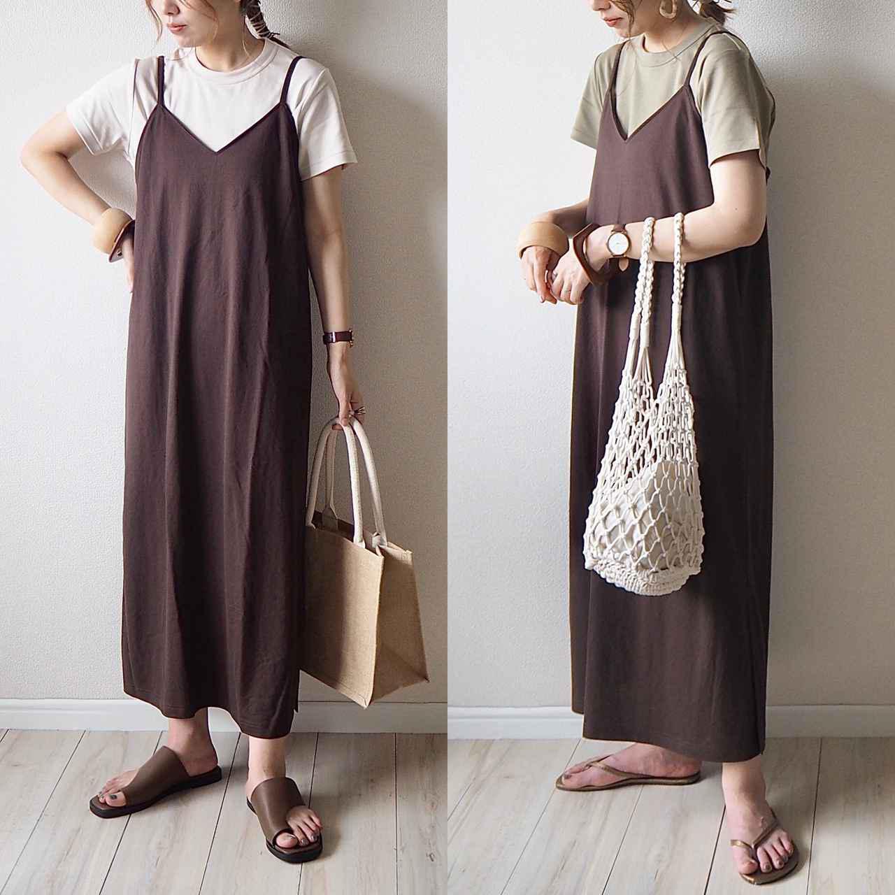 画像: 【GU】後悔、、!イロチ買いが叶わなかった大人気キャミワンピでらくちんママコーデ - senken trend news-最新ファッションニュース