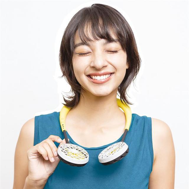 画像: ハンズフリー ダブルファンver.2.0 3,000円(税別)/ロフト