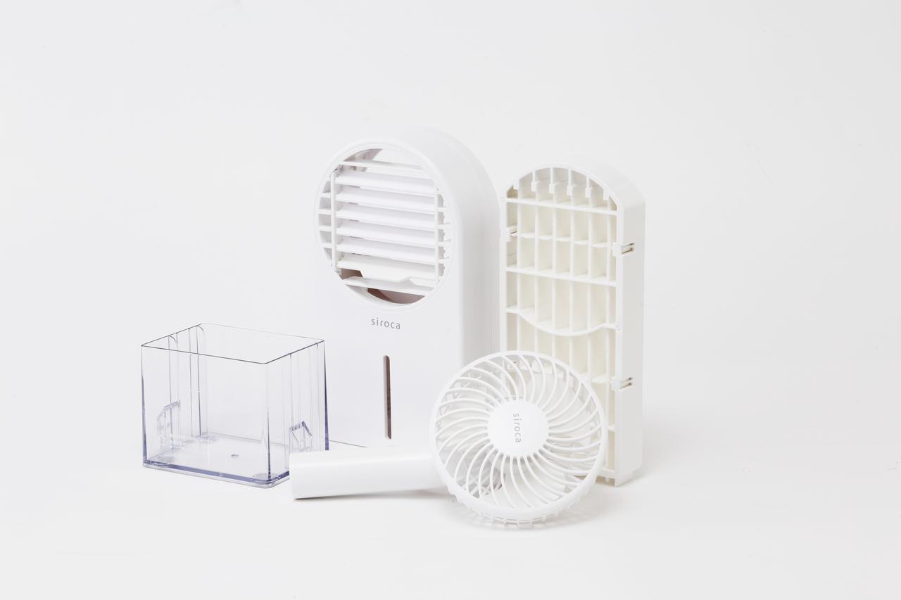 画像: 冷風扇にもなるハンディファン シロカのひえひえファン3,480円(税別)/siroca