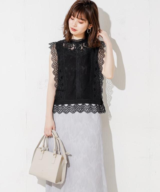 画像: natural coutureノースリブラウス4,290円(税込)