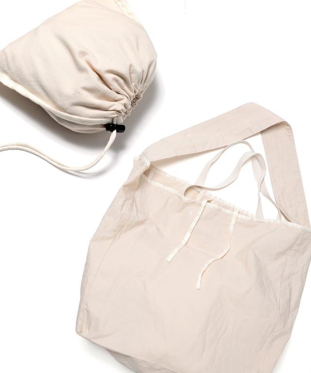 画像: FREAK'S STORE×hobo【Cotton Ripstop Shop Bag】/¥3,080円(税込み)