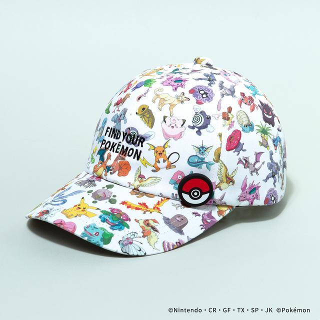 画像: CAP/¥9,460(税込み) WHITE