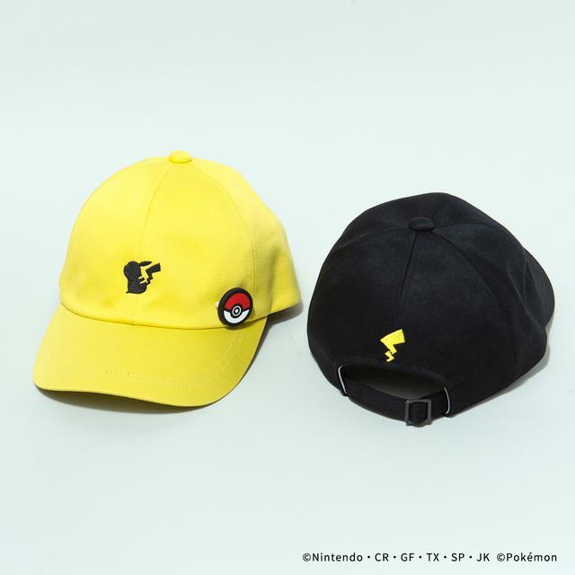 画像: CAP/¥8,800(税込み) YELLOW/BLACK