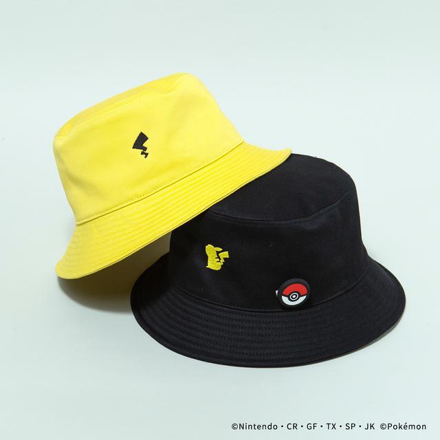 画像: HAT/¥9,350(税込み) YELLOW/BLACK