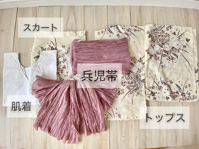 画像3: 【しまむら】着付けたったの5分!?プチプラの超人気浴衣を着てみた。