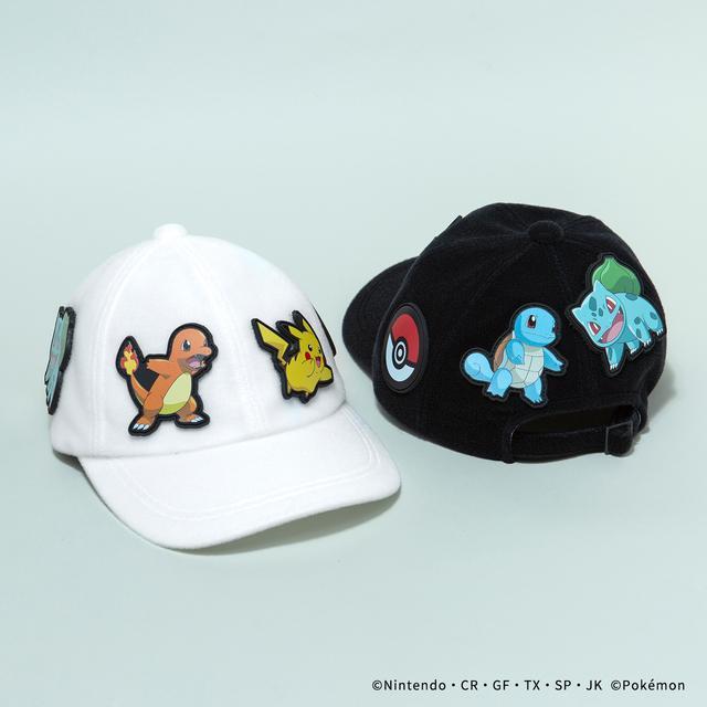 画像: CAP/¥11,180(税込み) WHITE/BLACK