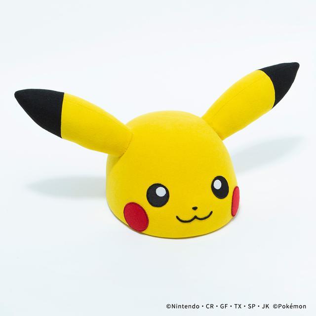 画像: PIKACHU FACE HAT/¥55,000(税込み)
