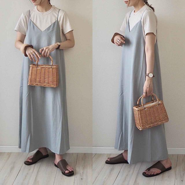 画像: 【GU】毎日でも着たい!GUの新作らくちんキャミワンピをGET♪ - senken trend news-最新ファッションニュース