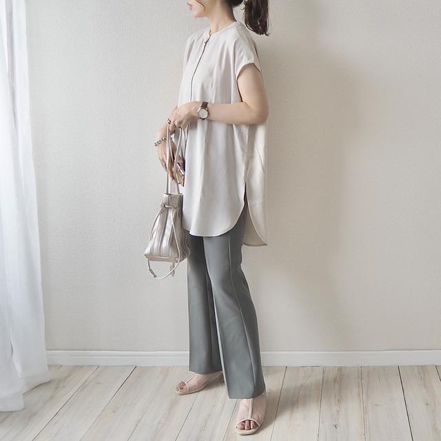 画像4: 【GU】ハンパない美脚効果。試着したら買わずにはいられなかった新作パンツ!