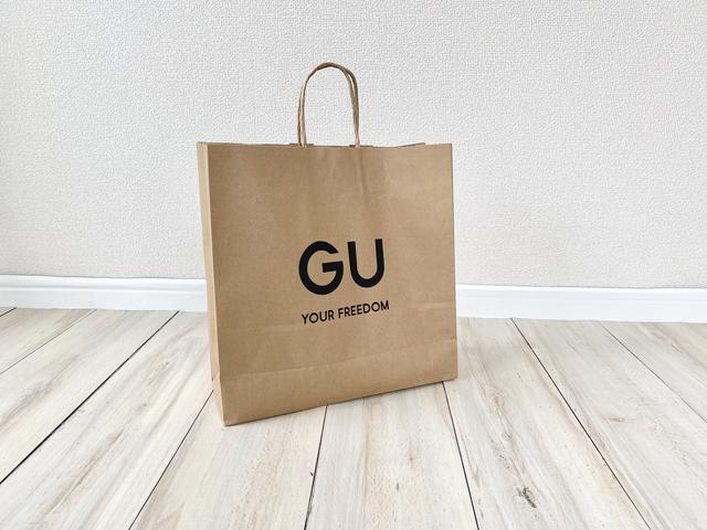 画像1: 【GU】ハンパない美脚効果。試着したら買わずにはいられなかった新作パンツ!