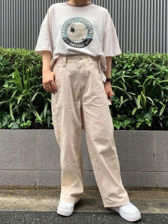 画像: 【SPINNS】Tシャツ平均価格1,000~4,000円【SPINNS】ステッチペインターパンツ3,298円(税込)