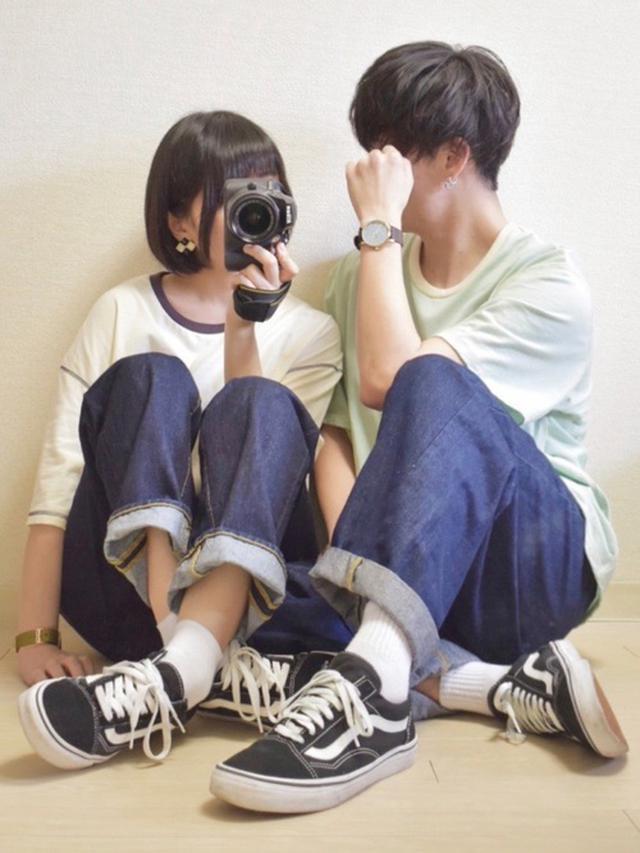 画像: 【AirTokyo】ビッグシルエットステッチTシャツ4,070円(税込)【VANS】オールドスクール 7,700円(税込)