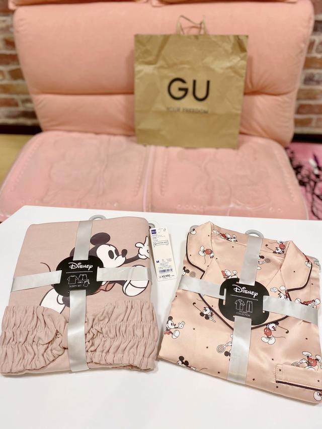 画像1: 【GU】可愛過ぎて即完売必至!「新作パジャマ3選」PART2