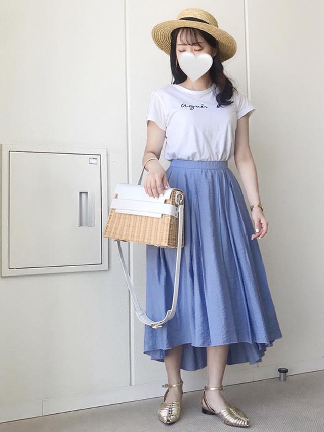 画像2: 履くだけでオンナ度UP♡「フレアスカート」の上品モテコーデ4選