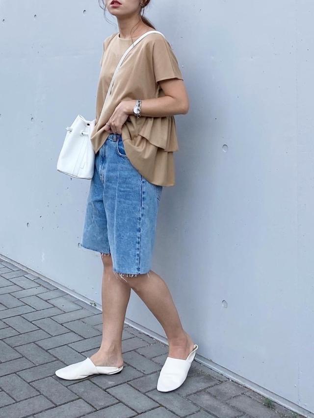 画像3: オトナ女子こそ挑戦したい!トレンドの「ハーフパンツ」着こなし術