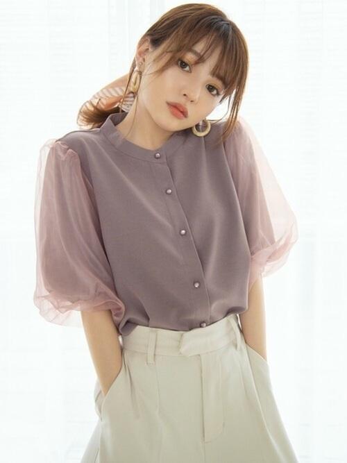 画像5: ふんわり可愛い♡着るだけでオシャレな「袖ボリュームトップス」4選