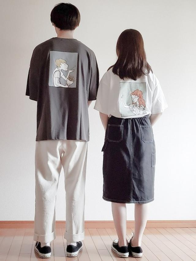 画像5: 女子が着ても可愛いのはコレ♡カップルで着たい「メンズアイテム」4選