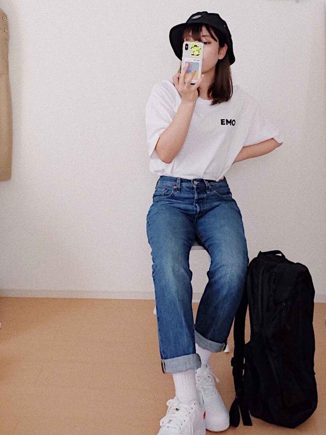画像4: NIKEのスニーカー履くならどれにする?お手本おしゃれNIKEコーデ4選