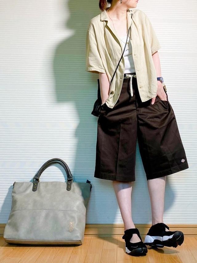 画像4: オシャレさんは履いてる!【ハーフパンツ】垢抜けコーデ4選