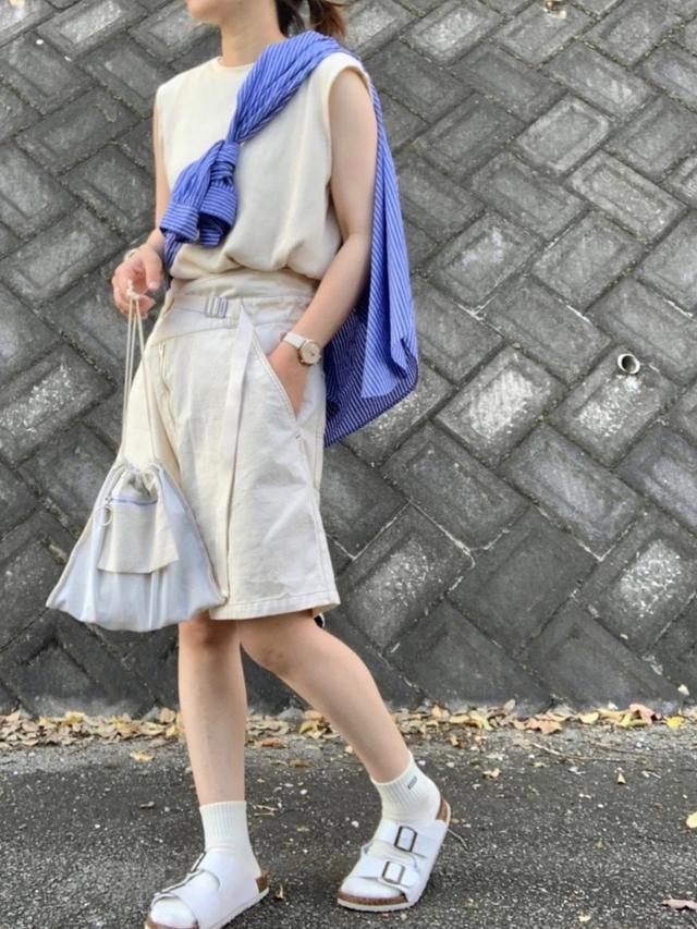 画像5: オシャレさんは履いてる!【ハーフパンツ】垢抜けコーデ4選
