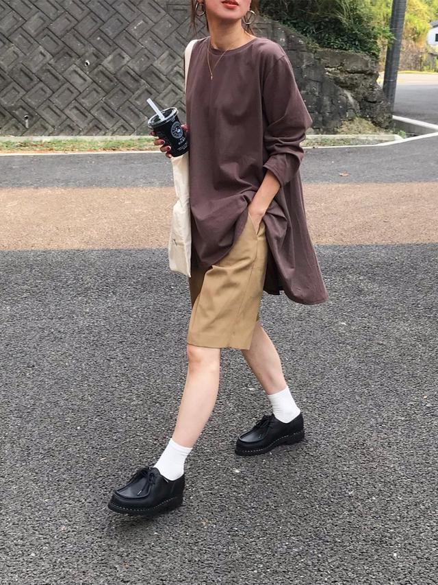 画像1: オシャレさんは履いてる!【ハーフパンツ】垢抜けコーデ4選
