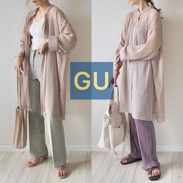 画像: 【GU】大人が選ぶべきシアーシャツはこれ!早くも話題の新作アイテム。 - senken trend news-最新ファッションニュース