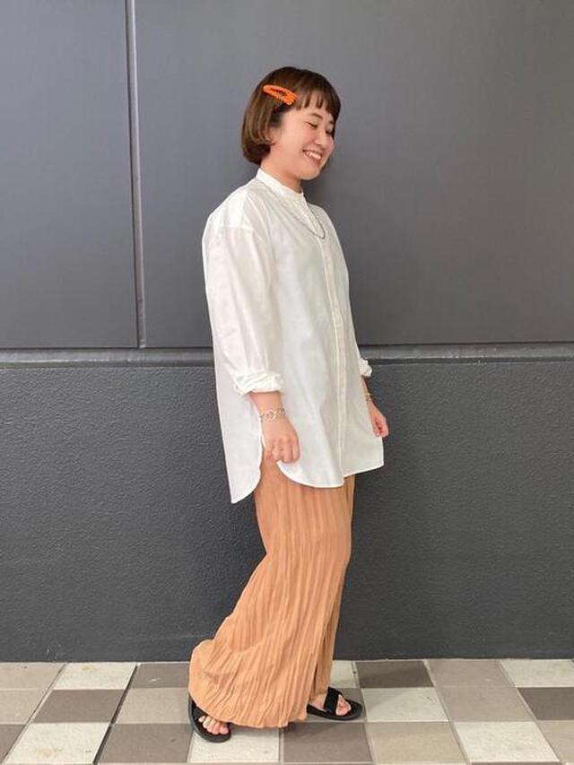 画像: 【coen】パンツ4950円(税込)【coen】シャツ/ブラウス4400円(税込)