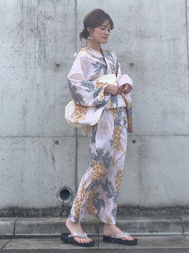 画像: 【utatane】浴衣1万4,999円(税込)