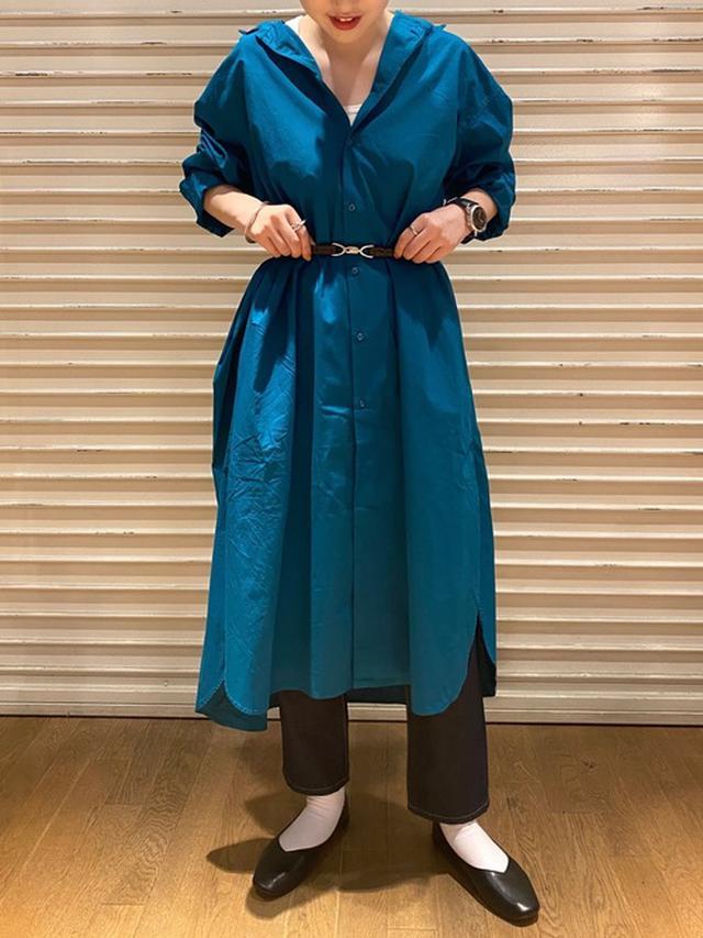 画像: 【niko and…】マーセワイヤー入りBIGシャツワンピ 6,490円