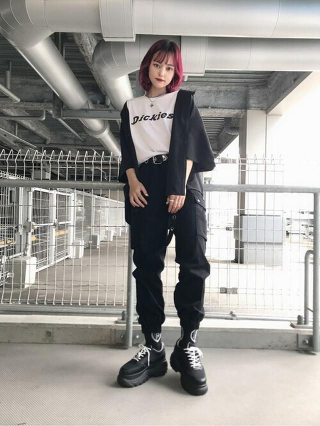 画像: 【WEGO】レトロロゴBIGシルエット五分袖シャツ3,299円(税込)