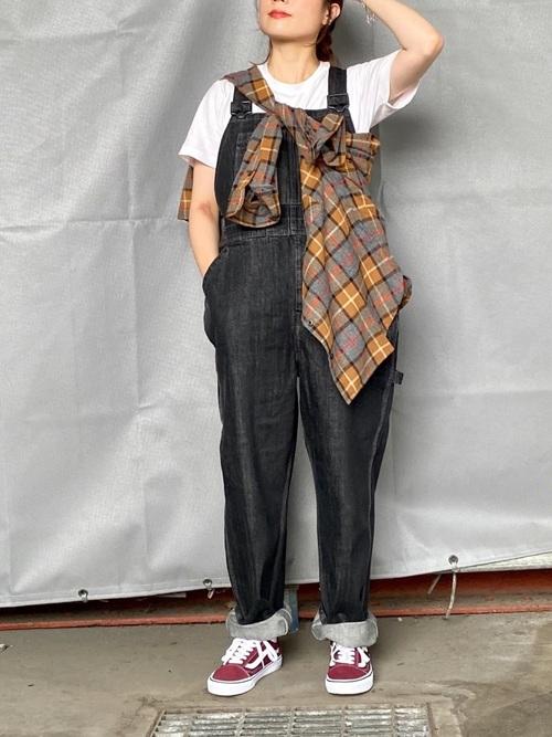 画像: 【チャオパニック】ビエラチェックルーズシャツ 7,150円(税込)