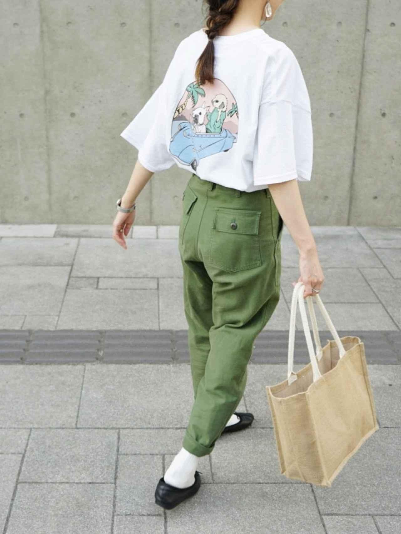 画像: 【無印良品】バッグ平均価格¥190〜¥290【THE SHINZONE】パンツ¥20,900(税込)