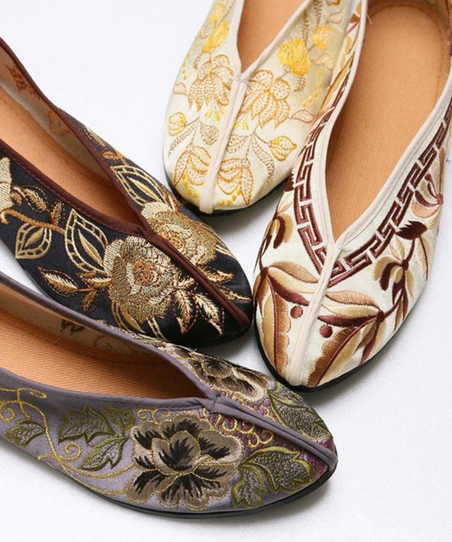 画像: これで5000円以下!ヤバイくらいに可愛い最新ペタンコ靴「チャイナシューズ」