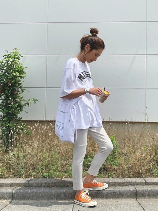 画像: 【niko and…】BIGロゴチュニックTシャツ 3,190円(税抜き)