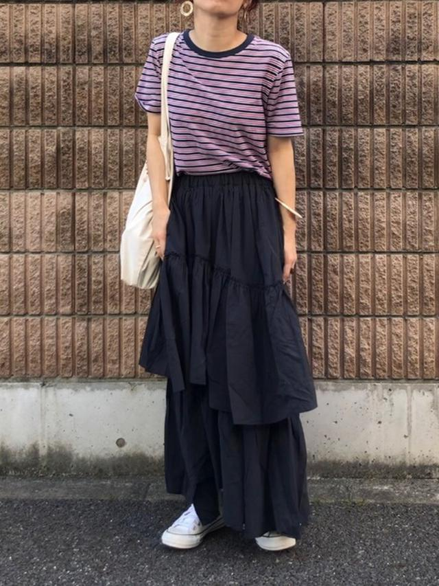 画像: 【niko and…】イレギュラーヘムティアードスカート 6,490円