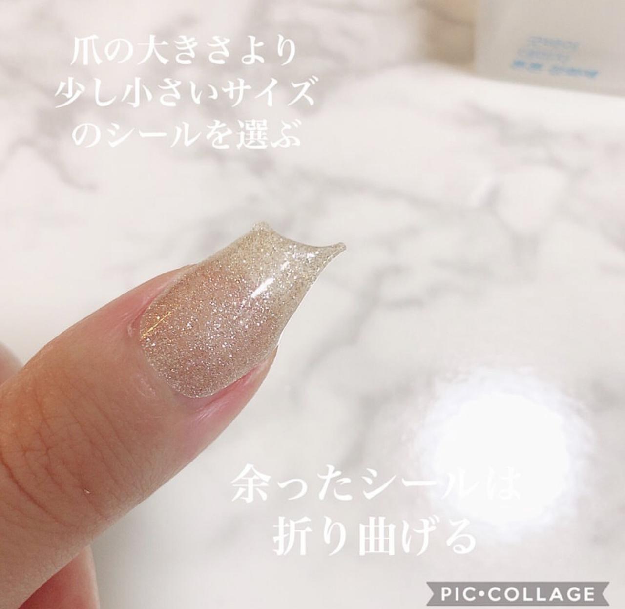 画像5: もう通う時代は古い?!韓国からやってきたお家で簡単にできる本格的ジェルネイルシール♥簡単に剥せるから普段ネイルが出来ない人も特別な日に爪から可愛く♥