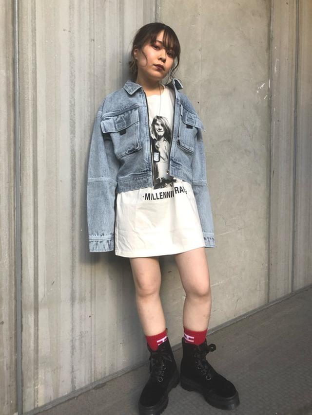 画像: 【X-girl】BLEACHED JACKET 12,320円(税込)